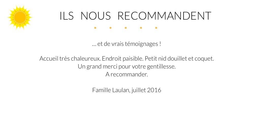 Giens Location Appartement Témoignage Famille Laulan
