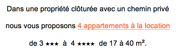 location appartement giens hyères description