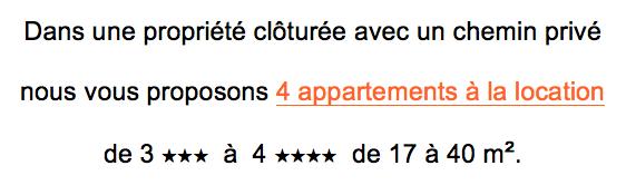 port auguier location appartement description