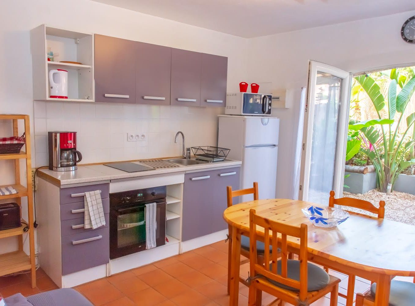 Location appartement giens hyeres papa-iti cuisine