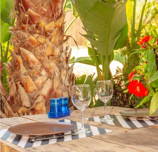 Rental apartment giens hyeres french riviera papa-iti table