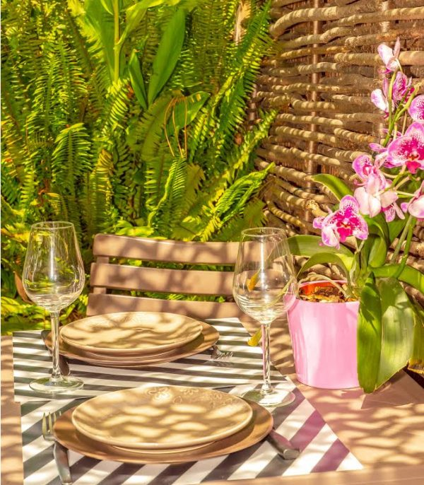 Studio french riviera giens hyeres Moorea table